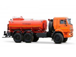 Автоцистерна нефтепромысловая АЦН-12 КАМАЗ-43118 фото