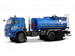 Автоцистерна для светлых ГСМ (бензовоз) АЦ-15 КАМАЗ-43118 фото