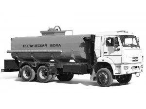 Автоцистерна нефтепромысловая АЦН-17 КАМАЗ-65111 фото