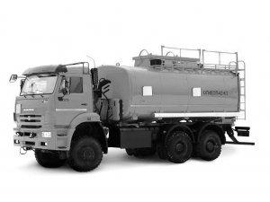 Автоцистерна нефтепромысловая АЦН-20 КАМАЗ-6522 фото
