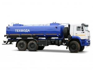 Автоцистерна нефтепромысловая АЦН-20С КАМАЗ-65222 фото