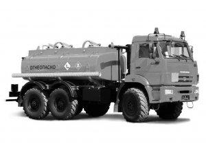 Автоцистерна для светлых ГСМ (бензовоз) АЦ-7,5 КАМАЗ-5350 фото