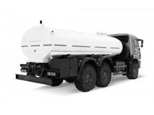 Автоцистерна для пищевых жидкостей АЦПТ-10 КАМАЗ-43118 с мотопомпой фото