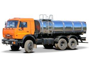 Автоцистерна для пищевых жидкостей АЦПТ-13 на шасси КАМАЗ-65115 фото