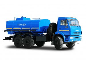 Автоцистерна для нефти и технологических растворов термоизолированная АЦТМ-10 КАМАЗ 43118 фото