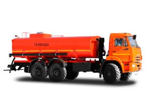 Автоцистерна для нефти и технологических растворов термоизолированная АЦТМ-12 КАМАЗ 43118 фото