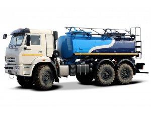 Автоцистерна для перевозки техводы АЦВ-10М КАМАЗ-43118 фото