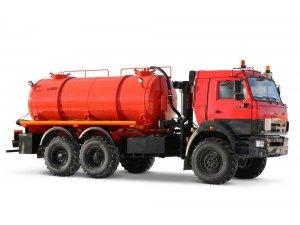 Вакуумная машина МВ-11,5 КАМАЗ-43118 фото