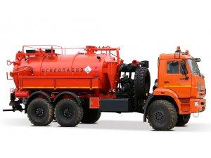 Илососная машина АКНС-10М КАМАЗ-43118 фото