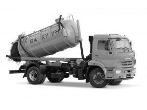 Вакуумная машина МВC-7,5 КАМАЗ-43253 фото