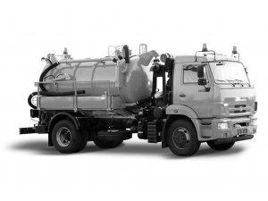 Вакуумная илососная машина МВС-7,5М КАМАЗ-43253 фото