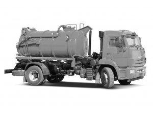 Вакуумная машина МВС-7,5М Техвода КАМАЗ-43253 фото