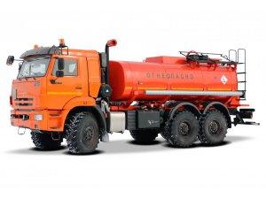 Автоцистерна нефтепромысловая АЦН-11 КАМАЗ-43118 фото
