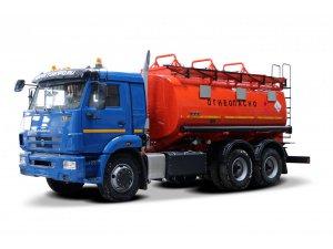 Автотопливозаправщик АТЗ-14 на шасси КАМАЗ-65115 фото