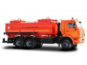 Автоцистерна для светлых ГСМ (бензовоз) АЦ-17 КАМАЗ-65111 фото