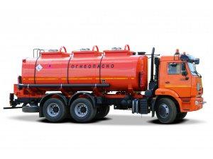 Автотопливозаправщик АТЗ-17М на шасси КАМАЗ-65115 фото