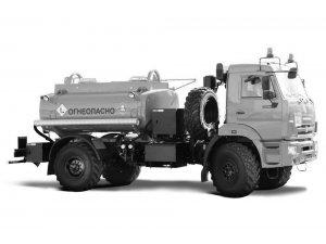 Автотопливозаправщик АТЗ-6 КАМАЗ-43502 (двухнасосный) фото
