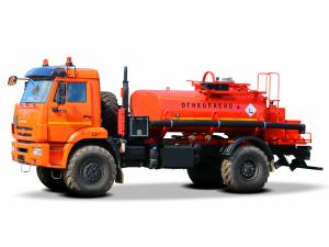 Автотопливозаправщик АТЗ-6 КАМАЗ-43502 (с маслостанцией) фото