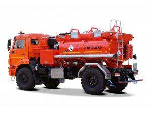 Автотопливозаправщик АТЗ-6 КАМАЗ-43502 РБА фото