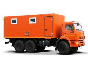 Передвижная маслостанция КАМАЗ-43118 (без наполнения) фото