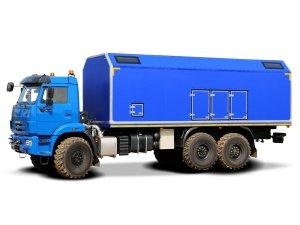 Передвижная маслостанция МС-2 КАМАЗ-43118 фото