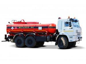 Автоцистерна нефтепромысловая АЦМ-10 КАМАЗ-43118-МЕТАНОЛ фото