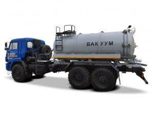 Вакуумная машина МВ-10ОД КАМАЗ-43118 Cummins фото