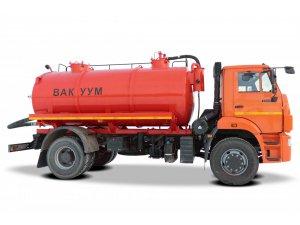 Вакуумная машина МВ-10 КАМАЗ-53605 фото