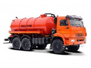 Вакуумная машина МВ-11 ТЛ-600 на базе КАМАЗ-43118  фото