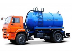 Вакуумная машина МВ-12 КАМАЗ-53605 фото