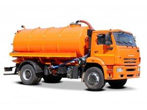 Вакуумная машина МВ-12 КАМАЗ-53605 КО-510 фото