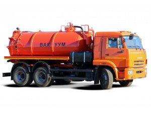 Илососная машина МВС-12 КАМАЗ-65115 фото
