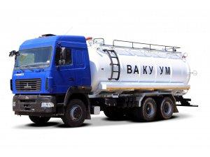 Вакуумная машина МВ-22ОДМ МАЗ-6312C9 фото