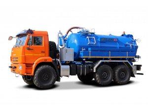 Илососная машина МВС-10М КАМАЗ-43118 фото