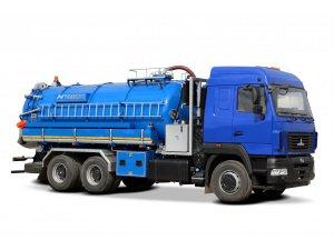 Илососная машина МВС-18 Геркулес МАЗ-6312С9 Горячий гидроразмыв фото