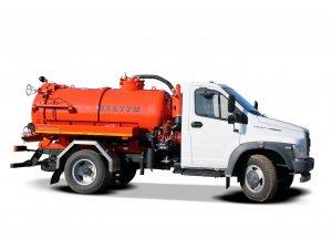 Cesspool emptying machine MVS-3.5 GAZ NEXT (mod. 2019) фото
