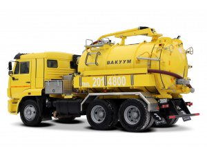 Илососная машина МВС-8 КАМАЗ-65115 фото
