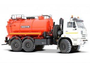 Вакуумная машина МВС-10 КАМАЗ-43118 фото