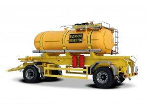 Прицеп-цистерна для перевозки кислоты ПЦК-10-VEKTOR фото