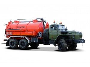 Вакуумная автоцистерна АКНС-10 на шасси Урал-4320 фото